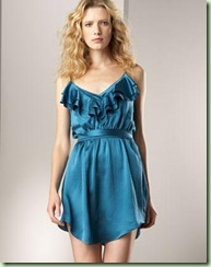 Rebecca Taylor satin olivia Dress
