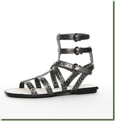 KORS Yes Metallic Gladiator, Gunmetal